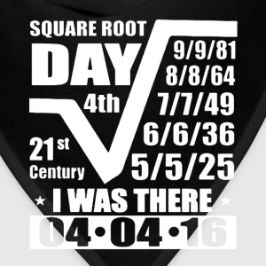 Square Root Day Shirt - Bandana