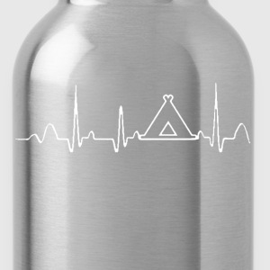 CAMPING HEARTBEAT - Water Bottle