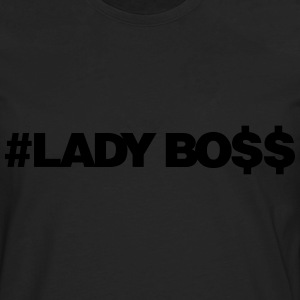 LADY BOSS - Men's Premium Long Sleeve T-Shirt