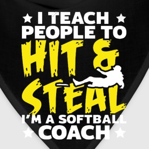 Softball Coach Shirt - Bandana