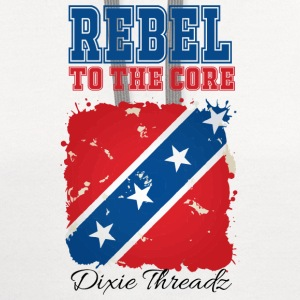 Dixie Threadz - Rebel to the core! T-Shirts - Contrast Hoodie