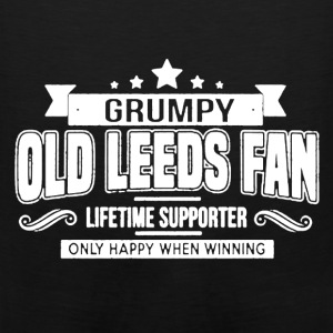 Grumpy Old Leeds Fan - Men's Premium Tank