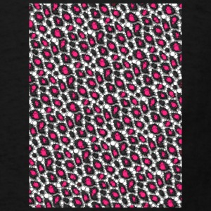 Pink Cheetah Abstract Mugs & Drinkware - Men's T-Shirt