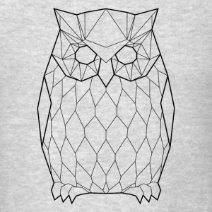 Black Owl - Animal Prism - Men's T-Shirt