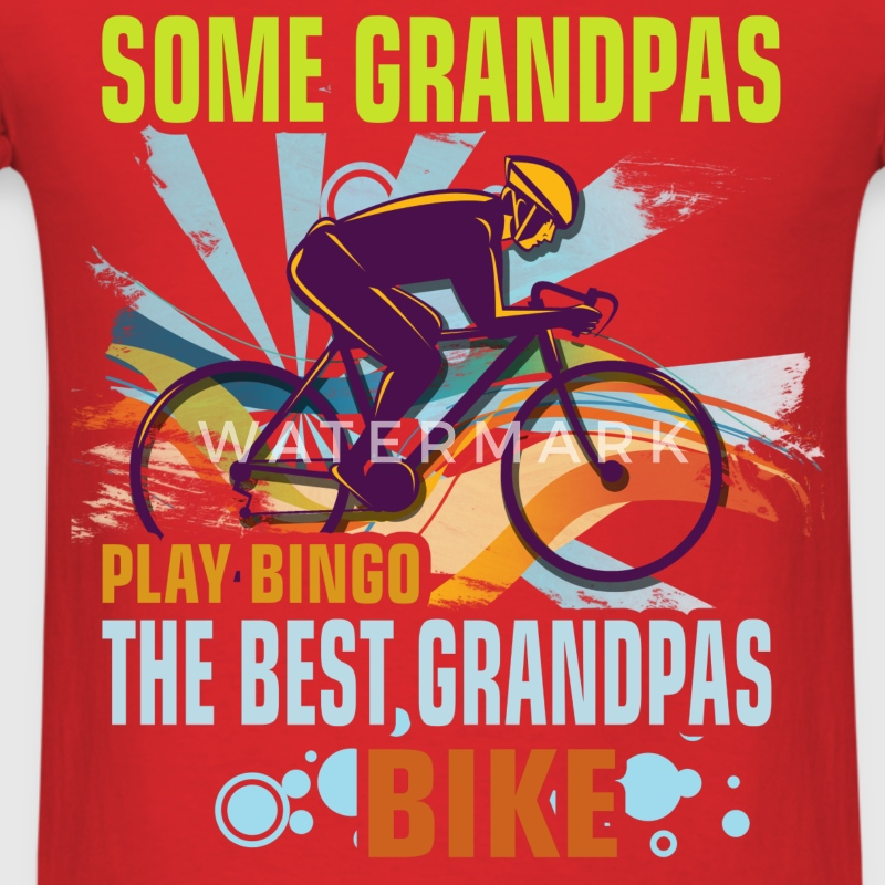 Grandpa - Grandpa Bike - Men's T-Shirt