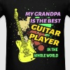 Grandpa - Guitar Player - Men's T-Shirt