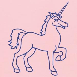 unicorn unicorn gay cool riding horse stallion equ T-Shirts - Kids' Hoodie