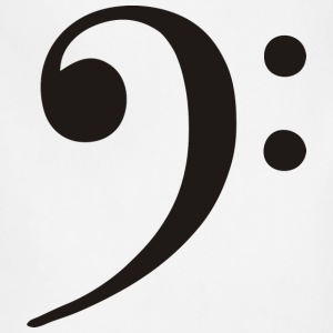 Bass Clef - Adjustable Apron