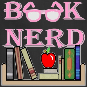Book Nerd Geek Is The New Sexy  - Adjustable Apron