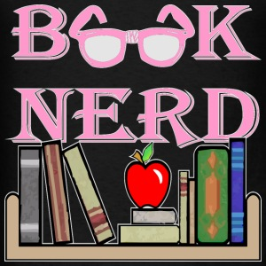 Book Nerd Geek Is The New Sexy  - Men's T-Shirt