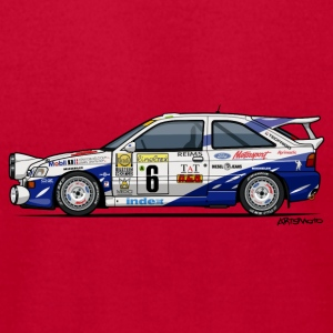 Ford Escort RS Cosworth Rally Monte Carlo Baby Bodysuits - Men's T-Shirt by American Apparel