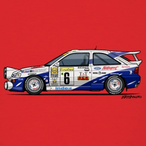 Ford Escort RS Cosworth Rally Monte Carlo Hoodies - Men's T-Shirt
