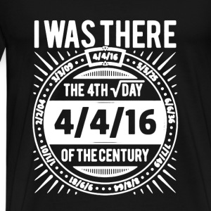 Square Root Day I Was The - Men's Premium T-Shirt