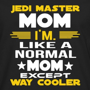 Jedi Master Mom Shirt - Men's Premium Long Sleeve T-Shirt