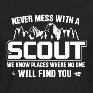 Never Mess With A Scout - Men's Premium Long Sleeve T-Shirt