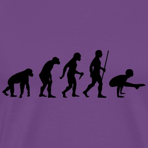 Evolution Yoga (Bhujapidasana) Tanks - Men's Premium T-Shirt