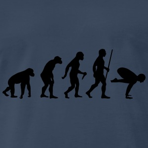 Evolution Yoga (Bakasana) Tanks - Men's Premium T-Shirt