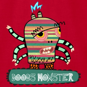 Boobs Monster - Men's T-Shirt by American Apparel