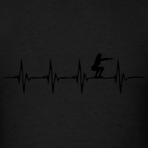Heartbeat Squats - Men's T-Shirt