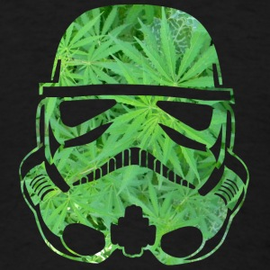 Weed Trooper LONG MAN - Men's T-Shirt