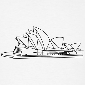 Opera House in Sydney Phone & Tablet Cases - Men's T-Shirt