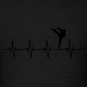Heartbeat martial arts - Men's T-Shirt