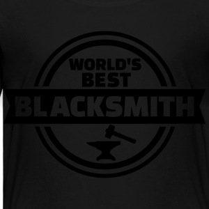 World's best blacksmith Kids' Shirts - Toddler Premium T-Shirt