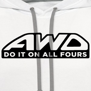 AWD T-Shirts - Contrast Hoodie