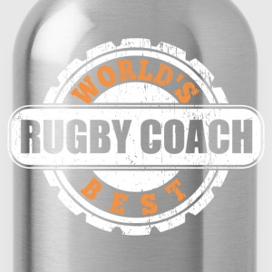 World's Best Rugby Coach T-Shirts - Water Bottle