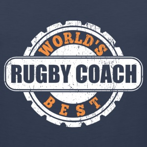 World's Best Rugby Coach T-Shirts - Men's Premium Tank