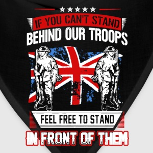 Stand Behind Our Troops - Bandana