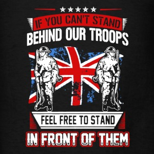 Stand Behind Our Troops - Men's T-Shirt