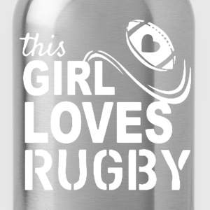 This Girl Loves Rugby - Water Bottle