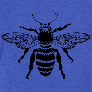 Tribal Bee Sweatshirts - Fitted Cotton/Poly T-Shirt by Next Level