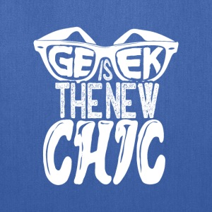 geek is the new chic - Tote Bag