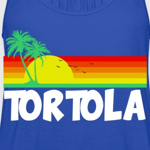 Tortola T-Shirts - Women's Flowy Tank Top by Bella