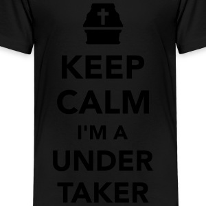 Keep calm I'm a undertaker Kids' Shirts - Toddler Premium T-Shirt
