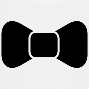 Black bow tie isolated Kids' Shirts - Toddler Premium T-Shirt