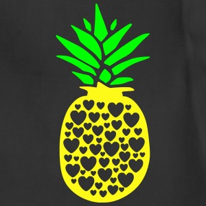 pineapple with heart - Adjustable Apron