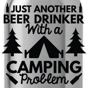Beer Drinker Camping - Water Bottle