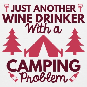 Wine Drinker Camping - Men's Premium Tank