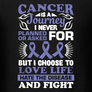 Cancer Is A Journey - Men's T-Shirt