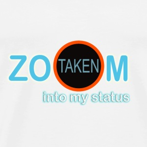 zoom into my status - Men's Premium T-Shirt