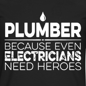Plumber Hero - Men's Premium Long Sleeve T-Shirt