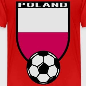 European Football Championship 2016 Poland Kids' Shirts - Toddler Premium T-Shirt
