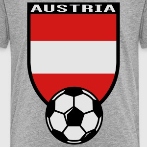 European Football Championship 2016 Austria Kids' Shirts - Toddler Premium T-Shirt