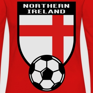 European Football Championship 2016 Northern Irland Hoodies - Women's Premium Long Sleeve T-Shirt