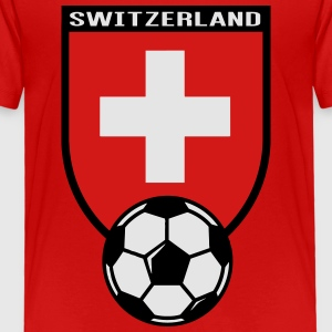 European Football Championship 2016 Switzerland Kids' Shirts - Toddler Premium T-Shirt