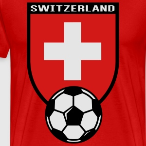 European Football Championship 2016 Switzerland Hoodies - Men's Premium T-Shirt