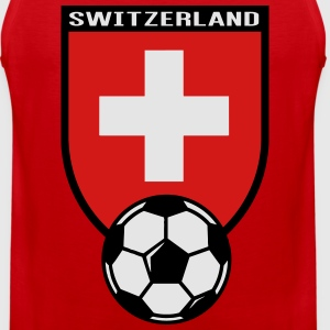 European Football Championship 2016 Switzerland Hoodies - Men's Premium Tank